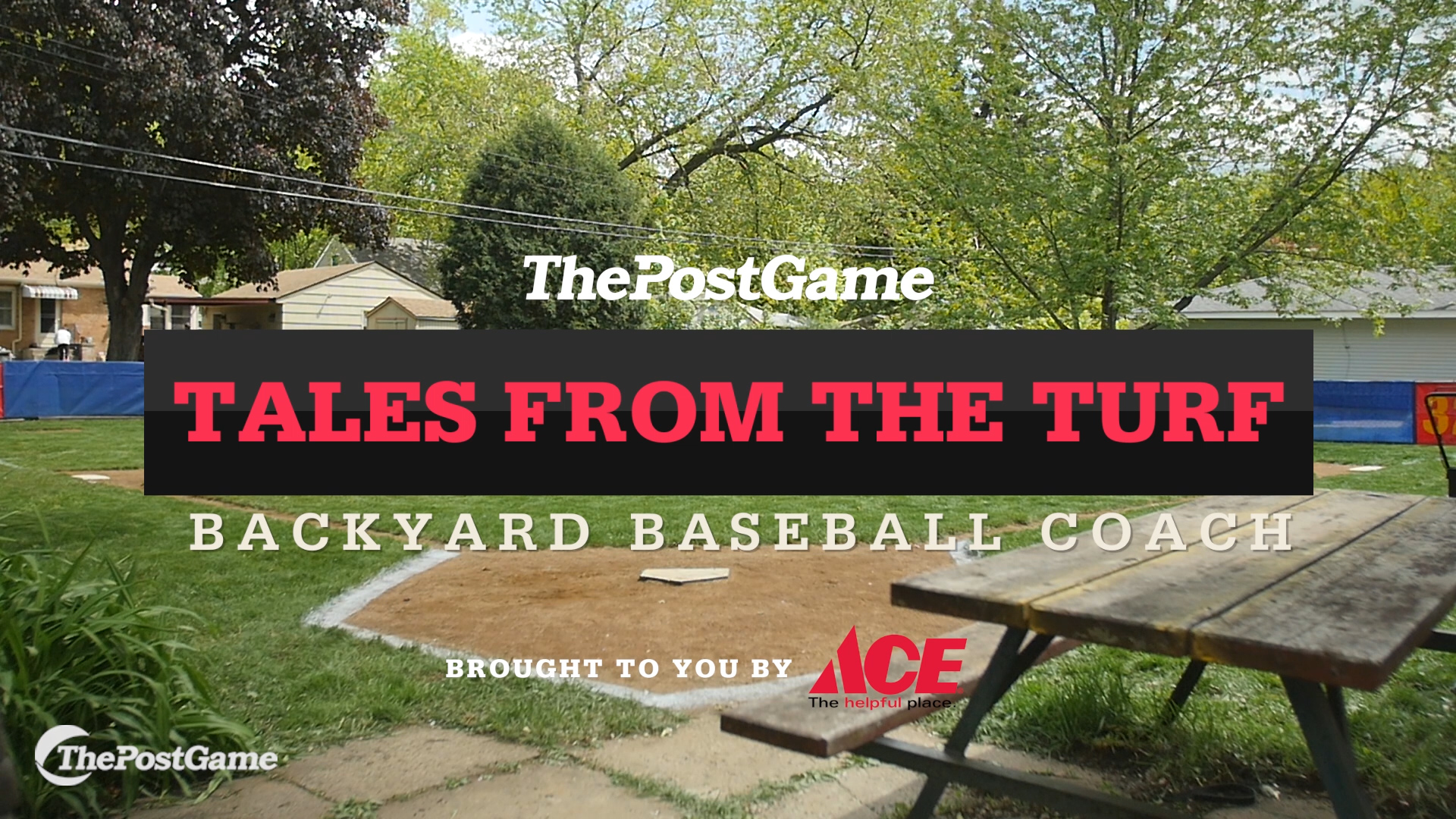 dad builds backyard baseball field thepostgame com