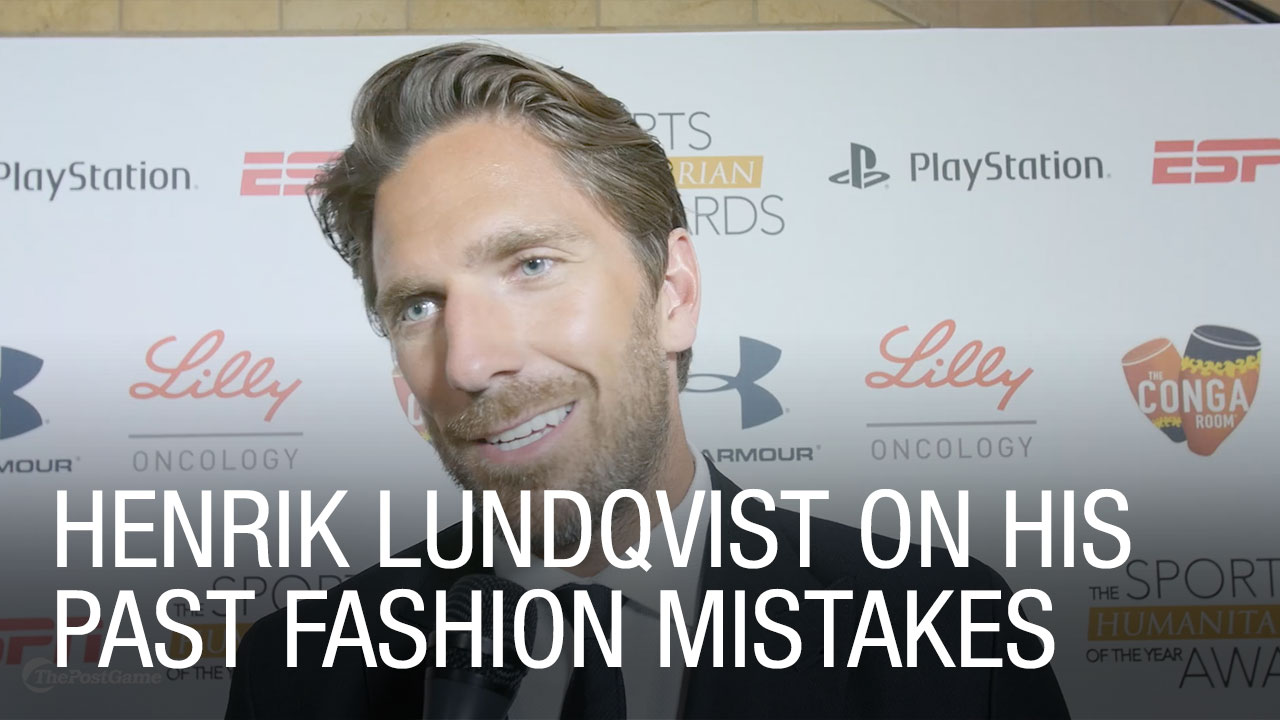 Henrik Lundqvist Talks Style Fashion Mistakes From Younger Days In
