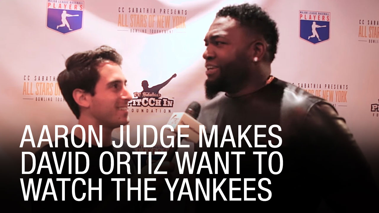 wholesale dealer 63a4c 3a4f5 Aaron Judge Explains Why He Wore Red Sox Shirt In Infamous ...